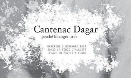 Cantenac Dagar en concert à la Forge d'Auguste
