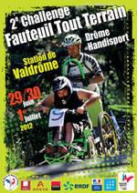 2ème Challenge Fauteuil Tout Terrain – Station de Valdrôme : 29, 30 juin et 01 juillet 2012
