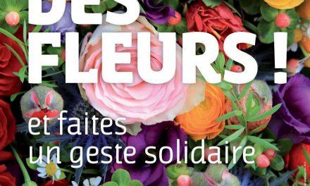 Offrez des fleurs pour l'ADMR !