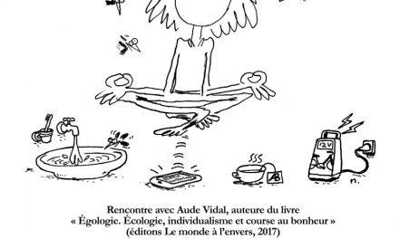 Aude Vidal explique l'égologie