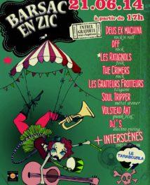 21 juin 2014 : Barsac En Zic !!