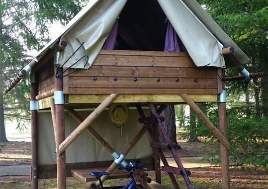 Bivouacs au camping du Lac bleu