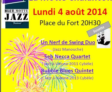 Le 1er Festival Blue Motte Jazz à la Motte-Chalancon