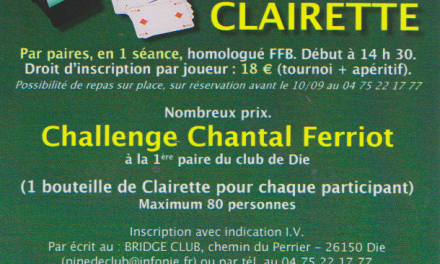 Le Bridge Club de Die