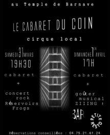 Le cabaret du Coin à Barnave