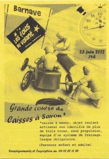 3ème course de caisses à savon de Barnave le 23 juin : A vos marques, prets partez !