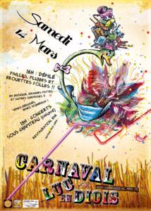 14 Mars 2015, c'est le Carnaval de Luc !