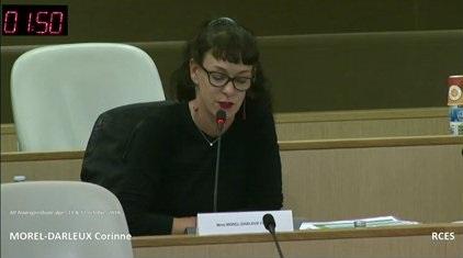 Corinne Morel Darleux : Rapport de l'Assemblée plénière régionale des 11 & 12 octobre 2018