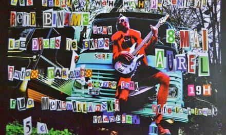 Concert punk le 08 mai à Aurel
