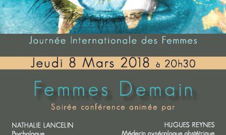Femmes Demain : Journée internationale des Femmes au Centre de l'Aube