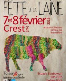 Fête de la Laine, 7 et 8 février 2015 à Crest