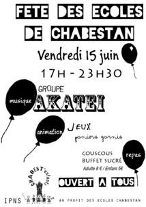 La fête des écoles de Chabestan