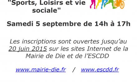 Forum des Associations Dioises 2015 : Inscriptions ouvertes !