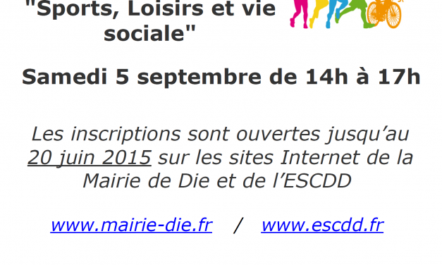 Forum des Associations Dioises 2015 : Inscriptions ouvertes !
