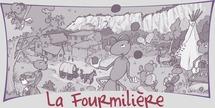 Caroline Zenaty présente les activités de l'association «La Fourmilière»