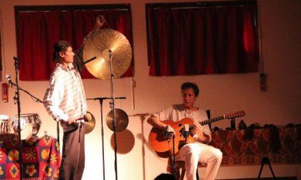 Intui'Sons, un duo avec Michel Gentils et Shyamal Maïtra