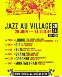 Jazz au Village : Les Namouches en concert !!