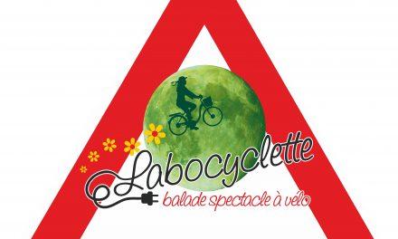 Spectacle en vélos, c'est Labocyclette !!