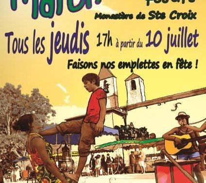 Les Marchés Bee Ô Festifs de Sainte-Croix