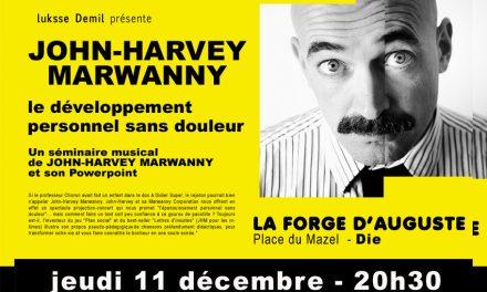 John-Harvey Marwanny à la Forge d'Auguste
