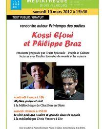 Rencontre d'auteur avec Trajet Spectacle – Peuple & Culture : Philippe Braz