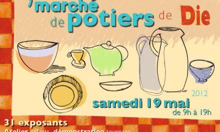 Cathy & Fanny présente le «9ème Marché de Potiers» à Die