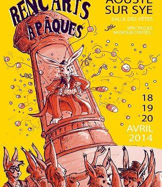 Renc'Arts à Pâques anime Aouste sur Sye pour un week-end