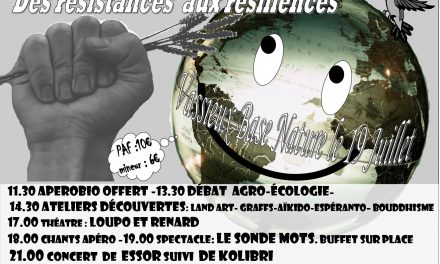 «Des Résistances Aux Résiliences» à Base Nature Vercors