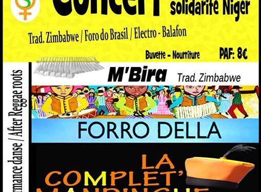 Concert Solidarité Niger avec Santé Femme Plus