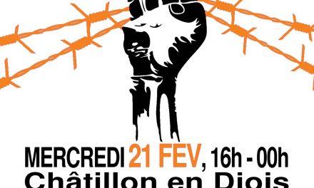 Soirée de soutien aux migrants à Châtillon-en-Diois