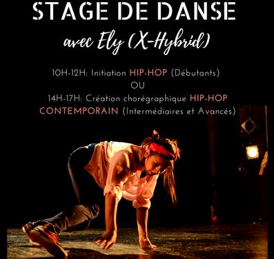 Stage de danse Hip hop par Ely