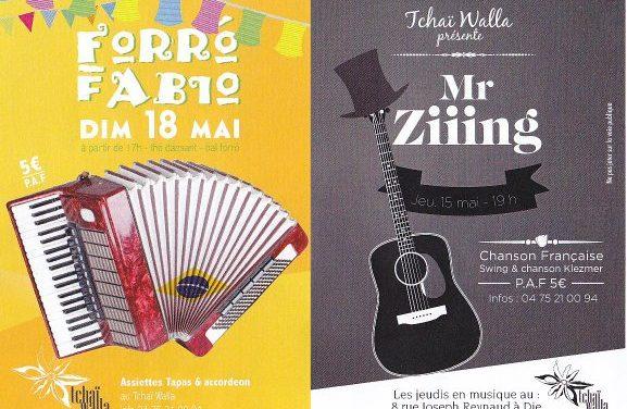 Rendez vous musicaux au Tchai Walla !