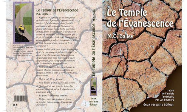 Chronique littéraire du livre de M.C. Dalley : Le temple de l'évanescence