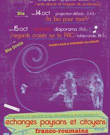 TREFLE présente : «Échanges Paysans et Citoyens Franco-Roumain»