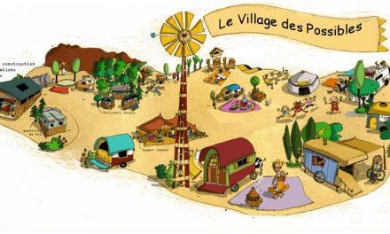 Le Village des Possibles près du cabaret des ramières d'Eurre