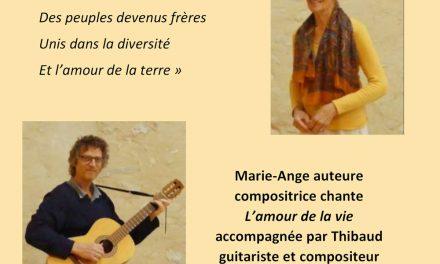 Récital de Marie-Ange Castella-Levin à l'école de la voix