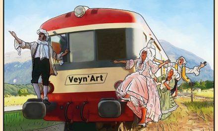 Veyn'Art : Train Artistique et Touristique sur l'Étoile de Veynes