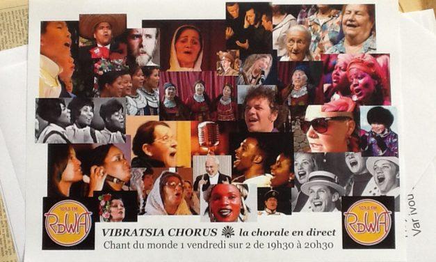 Deuxième de Vibratsia chorus, la chorale en direct !
