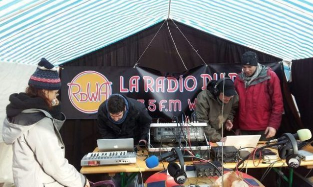 Inauguration officielle de la FM en direct du marché de Die