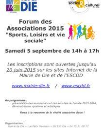 Forum des associations 2015 à Die (1)