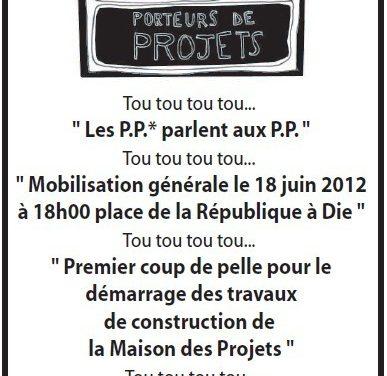 La Maison Des Projet Du Diois : » LA PELLE DU 18 JUIN «
