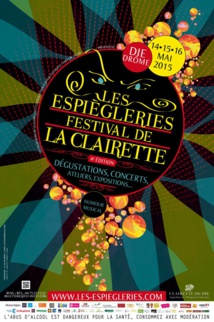 Les Espiègleries Festival de la Clairette, en direct de la rue Camille Buffardel le 16 mai 2015