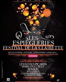 Les Espiègleries, Festival de la Clairette : 2ème édition !!