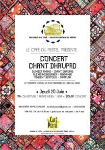 Chant Dhrupad au Café du Pestel
