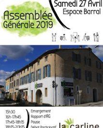 27 avril, Assemblée générale de la Coopérative La Carline