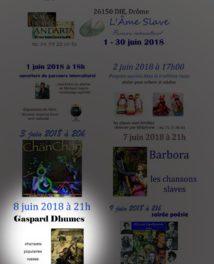 Gaspard Dhumes en concert à Andarta