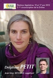 Delphine Petit – Europe Ecologie Les Verts