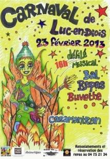 Carnaval de Luc-en-Diois 2013