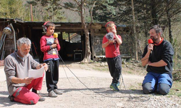 Le Parc Naturel Régional du Vercors, Quésaco? Par l'école St-Croix. Episode 3/ Autour des bassins de Fannie et Nicolas.