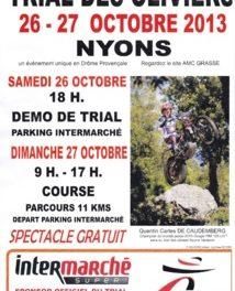 3e Trial des Oliviers à Nyons